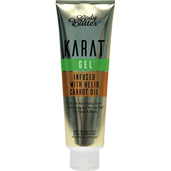 Karat Gel Body Butter Infused with Helio Carrot Oil - for sale online from Bronze Age Tanning Limited, County Donegal, Ireland