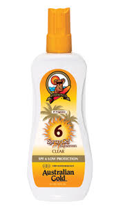 Australian Gold - Sun Protection Gel - sunscreen with  SPF 6, SPF 15 & SPF 30
